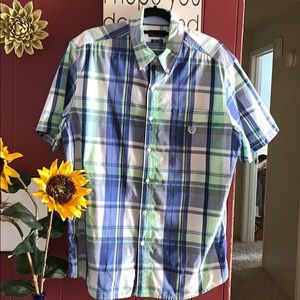Chaps Summer Button Down